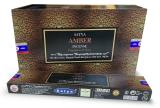 Incenso Satya Fragrances & Sens Ambra 15g