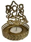 Metal candle holder Sri Laxmi color copper 8cm