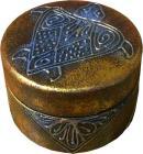 Boite indi motifs ronde