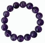 Bracelet Amethyste perles AA 12mm