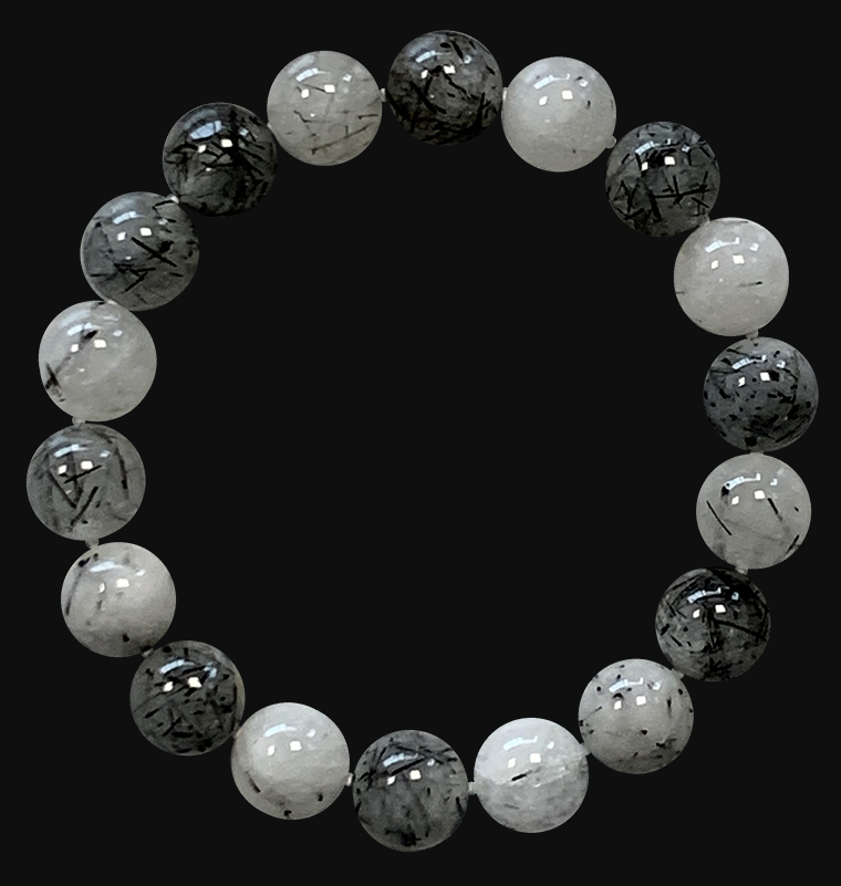 Rock Crystal A 10mm pearls bracelet