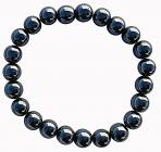 Hematite pearls bracelet 8mm
