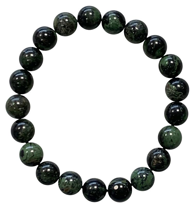 Bracelet Jaspe Kambaba perles 8mm