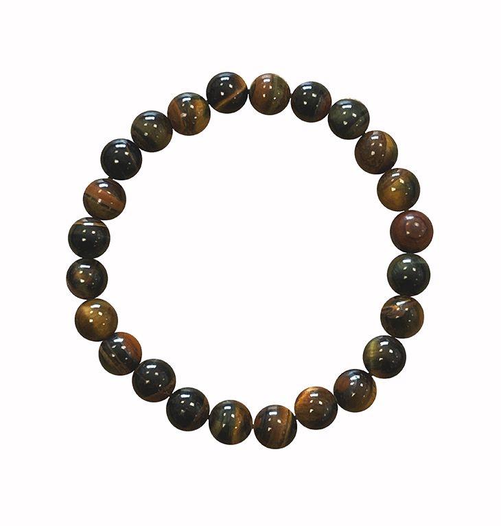 Falcon eye 8mm pearls bracelet