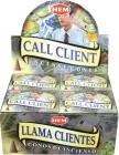 Call client hem incense cones