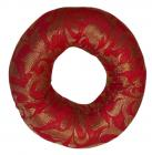 Round red cushion for singing bowl 15cm