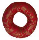 Cuscino rotondo rosso per campana cantante 13cm