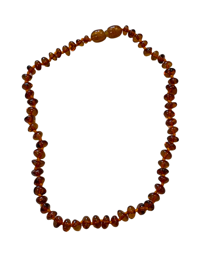 Baltic Amber A Necklace Baby Cognac 34cm