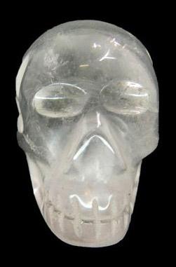 Crânes Sculpté en Crysal de Roche 60g