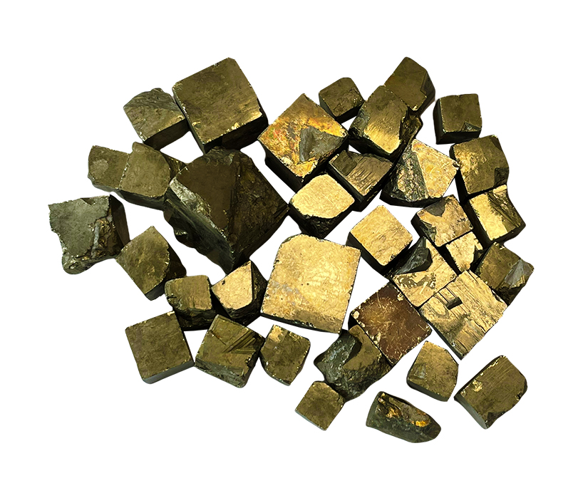 Pyrite extra cubes 250g