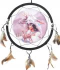 Oval dreamcatcher indian & dear 40cm