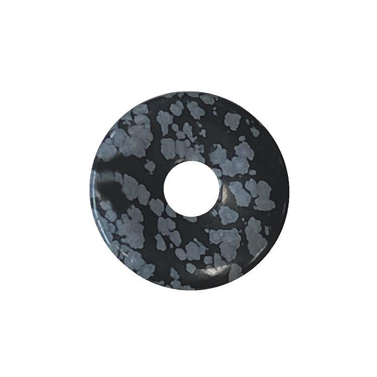Snowflake Obsidian donut 3cm