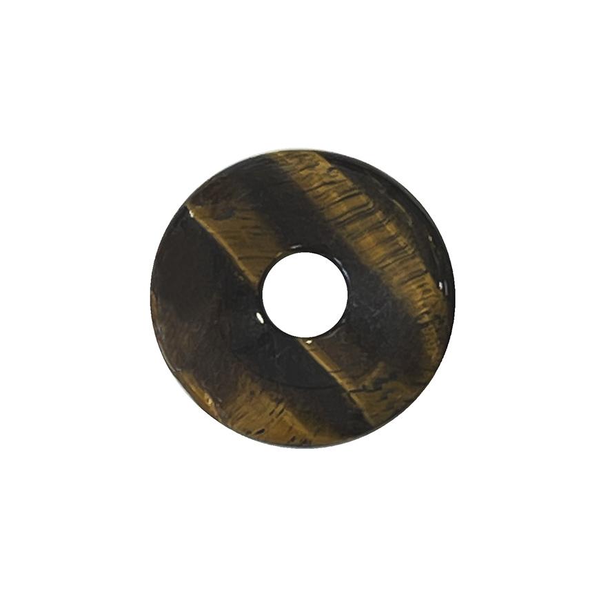 Tiger Eye donut 3cm