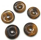 'AAA' Tiger eye donut 2cm