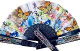 Butterfly fans in color x12