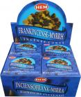 Encens hem frankincense myrrh cones