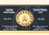 Fragrances & sens amber soap 100g