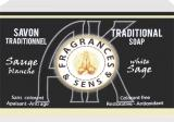 Fragrances & sens white sage soap 100g