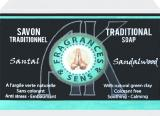 Savon fragrances & sens santal 100g