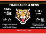 Fragrances & sens tiger soap 100g