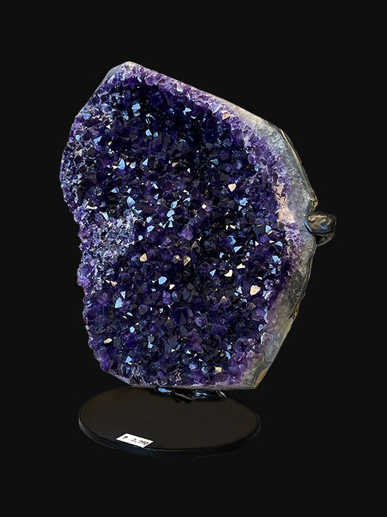 Brazilian polished edge AAA Amethyst geode on base 3790g