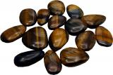Tiger eye flat pebbles 250g