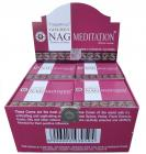 VIjayshree Golden nag Meditation cones incense