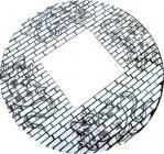 Mosaic Gecko Mirror 40cm