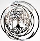 Tree of life stainless mobile 15cm