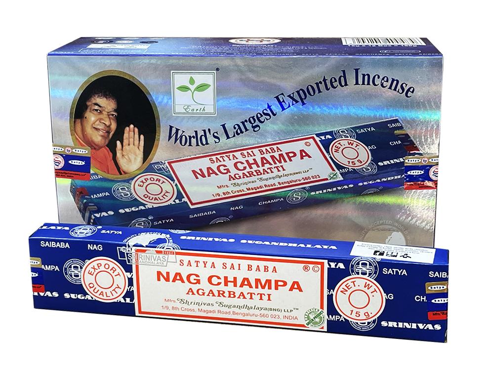 Nag champa satya sai baba incense 15g