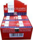 Vijayshree incense golden nag champa cones