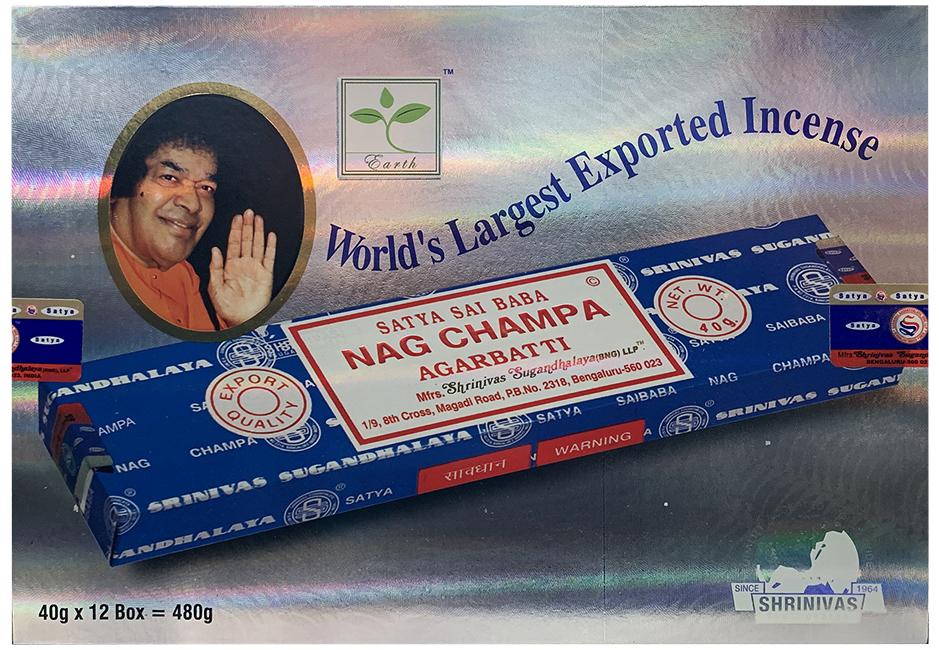 Encens Satya Nag Champa  40g