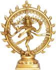 Natraj Shiva danseur en laiton 16cm