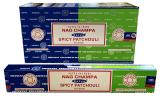 Incenso Satya Nag Champa & Spicy Patchouli 15g