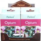 Encens tulasi sarathi cones opium