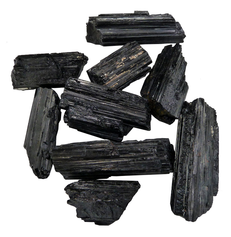 Cathedral Black Tourmaline in Raw AAA 1Kg