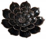 Lotus metal incense holder 8.5cm