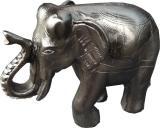 Incense holder resin elephant 9x7cm