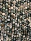 Perline di Agata Albero A da 8mm su filo da 40cm