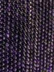 Amethyste A perles 8mm sur fil 40cm
