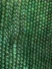 Perline di Avventurina verde da 8mm su filo da 40cm