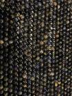 Cordièrite Lolite A perles 6mm sur fil 40cm