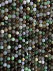 Chrysoprase A 6mm pearls on string