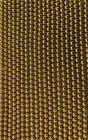 Hematite Gold A perles rondes 6mm sur fil 40cm