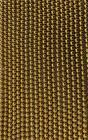Hematite Gold A perles rondes 8mm sur fil 40cm