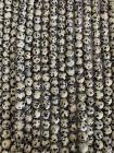 Perline di Djaspro Dalmata A da 8mm su filo da 40cm