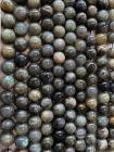 Perline di labradorite A da 10mm su filo da 40 cm