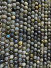 Perline di labradorite A da 6 mm su filo da 40 cm