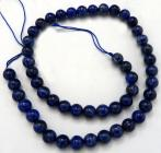 Lapis Lazuli 8mm pearls on string