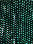 Malachite 6mm pearls on string